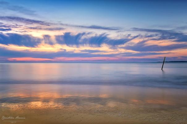 Pause sunset