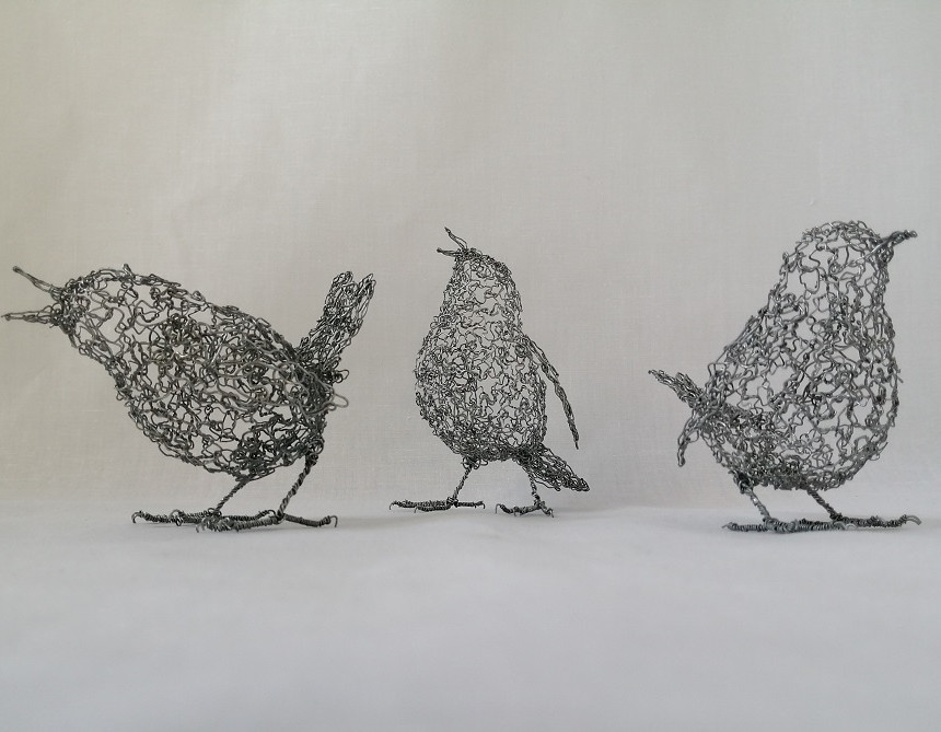 Three little Wrens