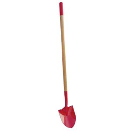 """SHOVEL FIRE ROUND POINT RED, WITH 43.3"""" ASH HDL"""