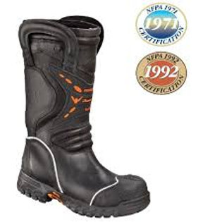 KNOCKDOWN ELITE LEATHER BOOT (LION) DUAL CERTIFIED
