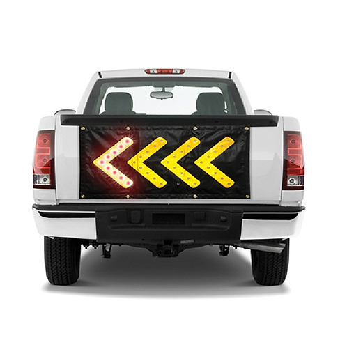 Magnetic LED Direction Sign Large