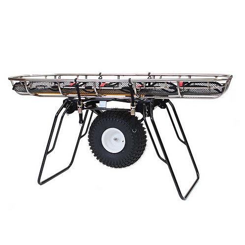 CMC-Mule II Litter Wheel with 8 Position Handles, Black