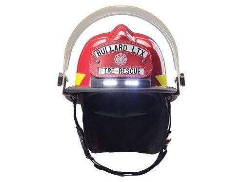 Bullard LTX helmet with traklite