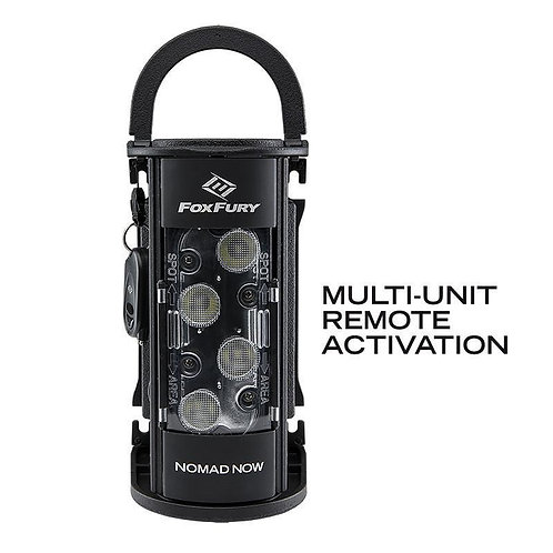 Fox Fury Nomad NOW Area-Spot Light with Remote: Multi-Unit