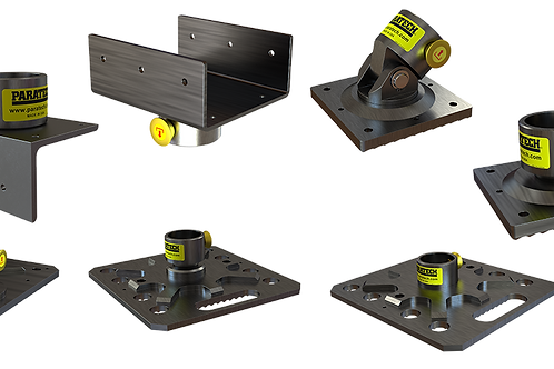 Paratech Shoring Strut System Heads and Bases