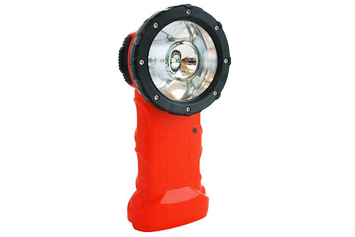 Koehler Brightstar Responder Right Angle Flashlight Led 6AA Orange