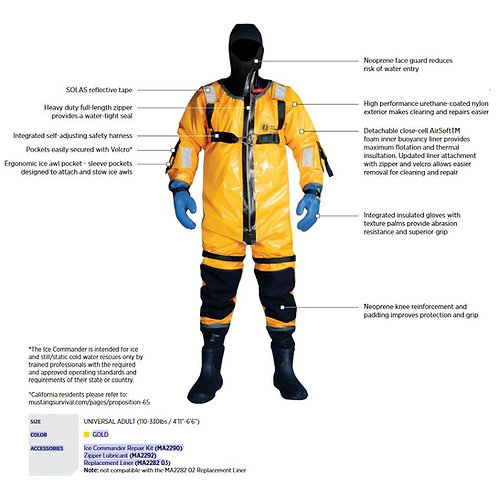 MUSTANG -ICE COMMANDER RESCUE SUIT
