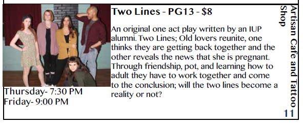 Two Lines Fringe Bio