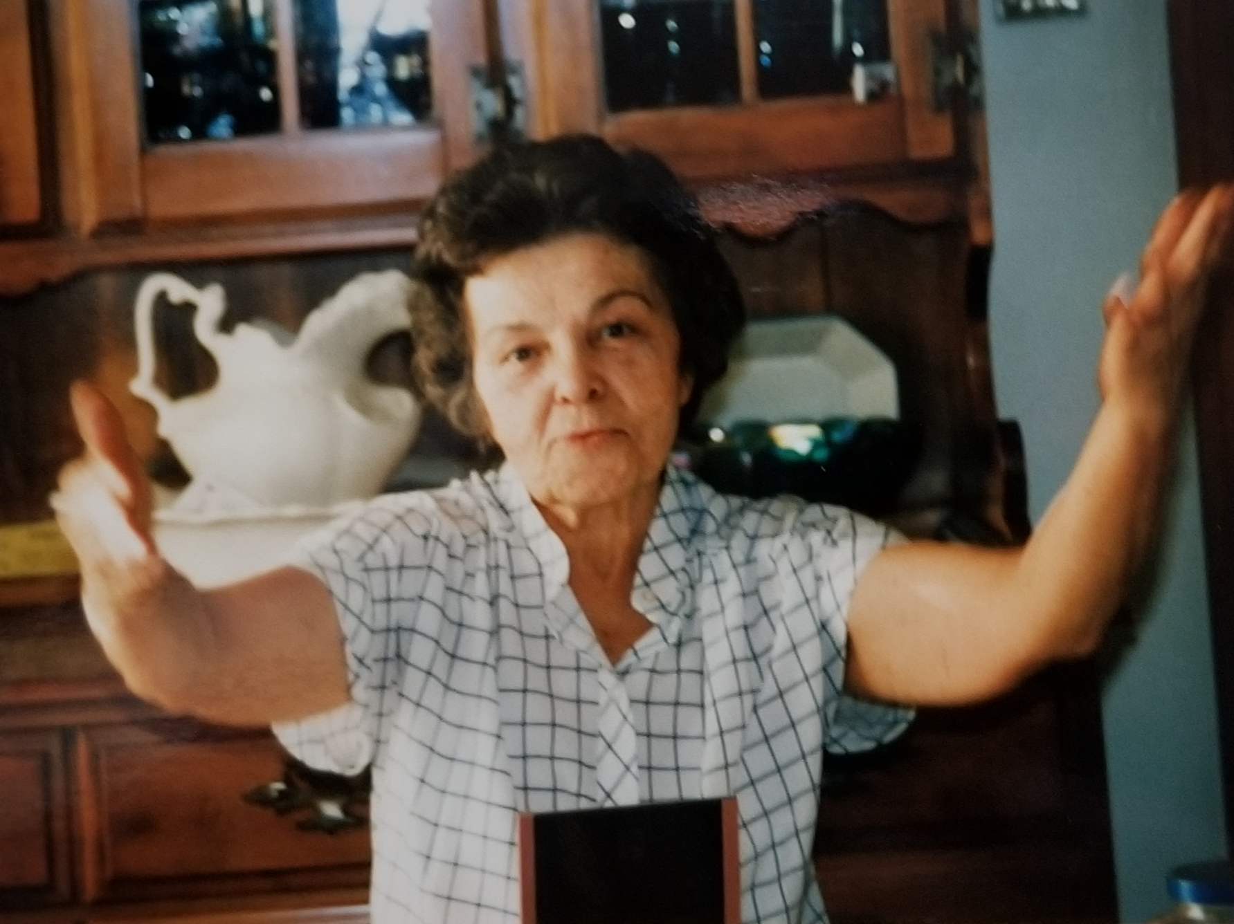 Pat's Mother, Anne Marie Antonini Caporella