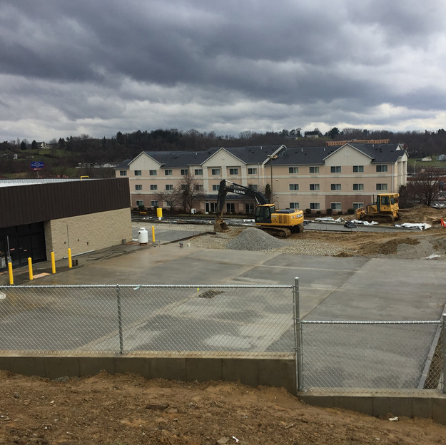 Dollar General Concrete Parking Lot