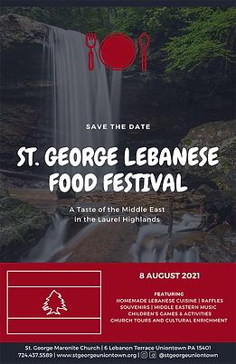 2021 Uniontown Lebanese Food Festival