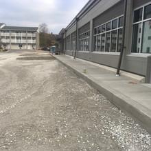 Sidewalks on Office Building