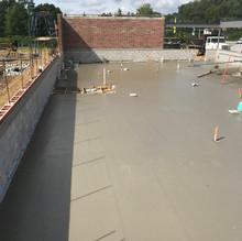 Dock Wall on Warehouse