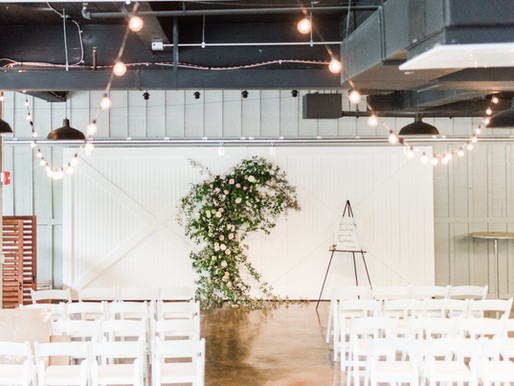 How Much for Hanging Wedding Flowers or Flower Installations?