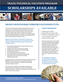 Orville and Ruth Workforce Fund Scholars