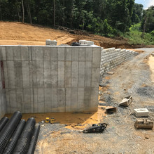 Redi-Rock Retaining Walls