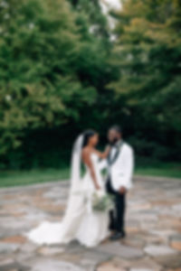 Greenery and white wedding in Cylburn Arboretum