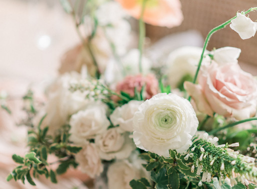 The airy and organic wedding look