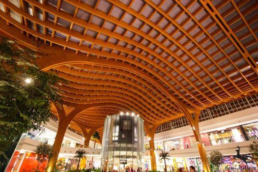 estrutura em madeira