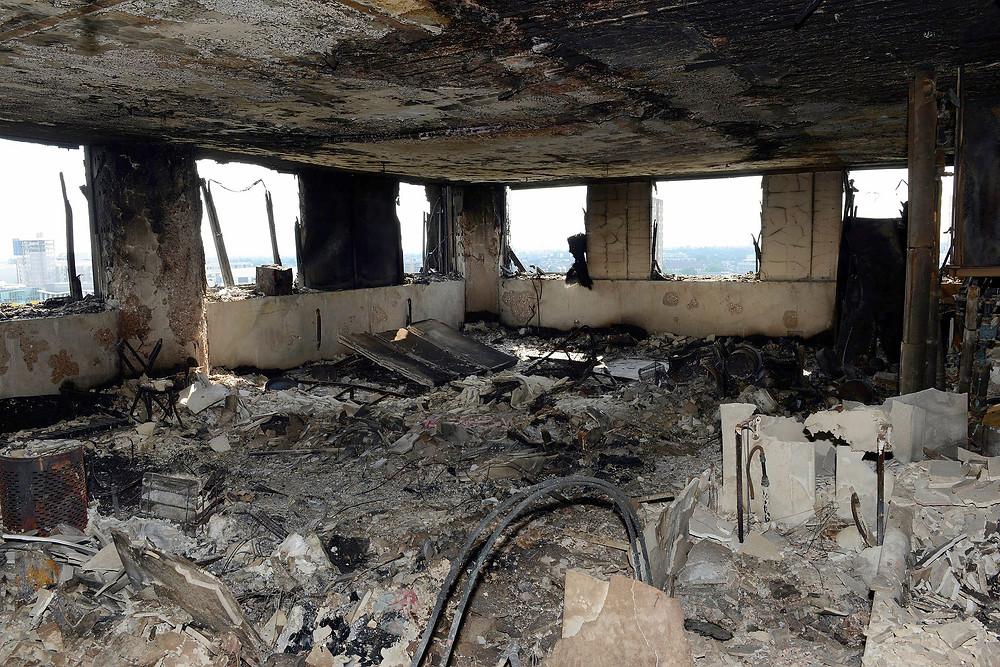 incêndio em concreto armado