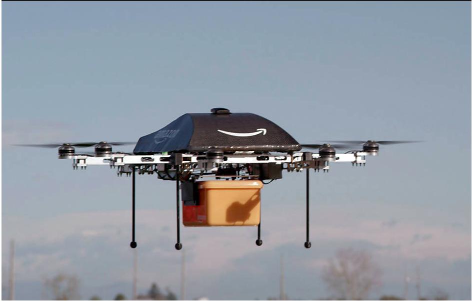 Drones de entrega da Amazon