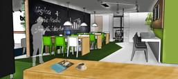 Projeto Interiores Coworking