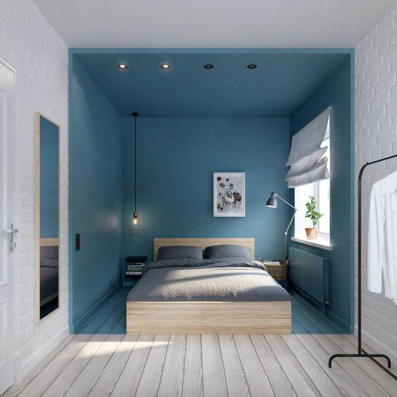 Decoração Interiores com azul