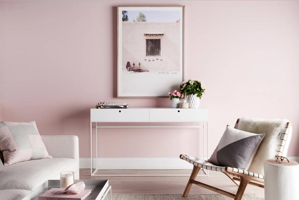 Decoração Interiores com rosa