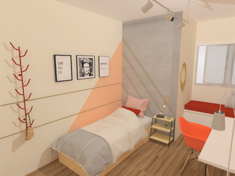 Concreta Interiores - Quarto DO