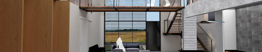 Concreta Completo - Vista Interior Sala