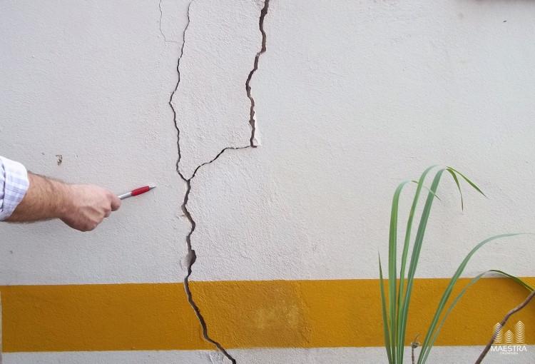 trinca rachadura laudo perícia inspeção engenharia civil