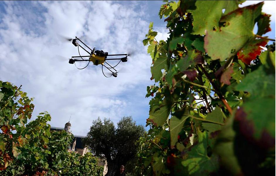 Drones com dispositivos infravermelho