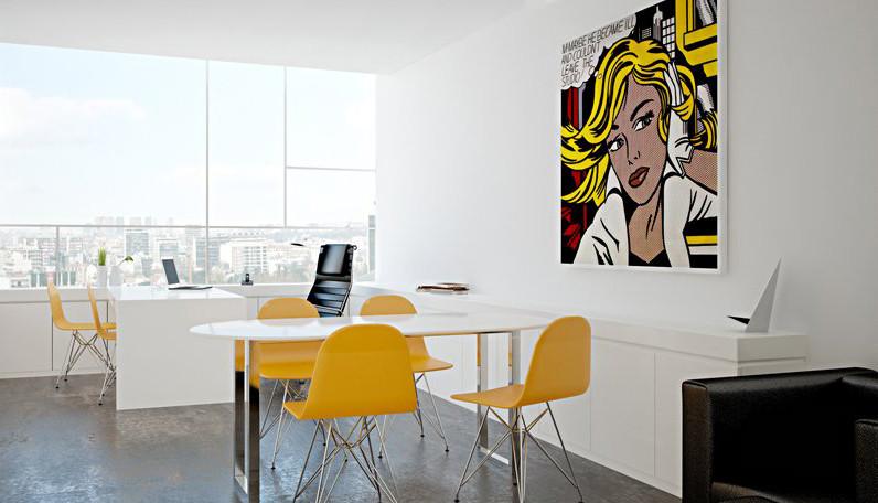 Decoração Interiores com amarelo