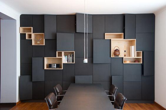 Decoração Interiores com preto