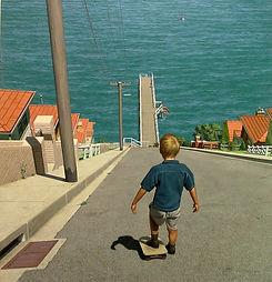 Skateboarding (Ronald Francis, 2004.jpg