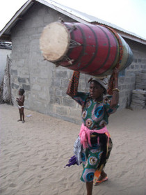 Real African Drums