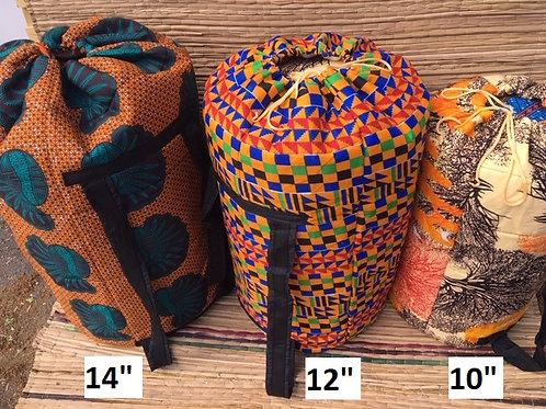 """Set of 3 Dun Dun Drum Bags - 10"""", 12"""" & 14"""""""