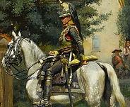 A_halt_in_the_village'_by_Édouard_Det
