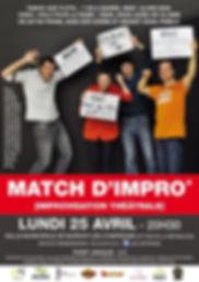 2016-04-25-AFFICHE match d'impro cipitro