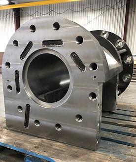 Chrome plating hopper cylinder bore