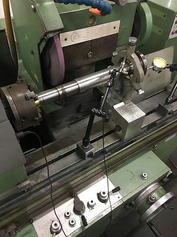 shaft grinding journals chrome