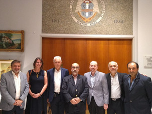 Encuentro entre representantes de IARA y Gabriel Fuks