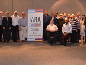 Brindis de fin de año y cambio de presidencia en IARA