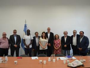 El Secretario de Derechos Humanos Horacio Pietragalla se reunió con IARA