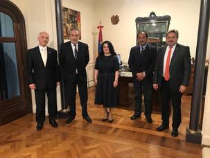 IARA se reunió con la Embajadora de Armenia, Ester Mkrtumyan