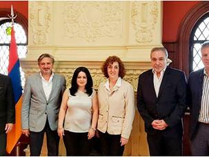 Encuentro entre IARA y la Embajadora de Armenia