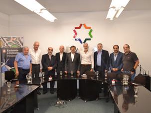 La dirigencia de la DAIA recibió a representantes de IARA