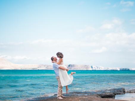 Séance engagement en Crète