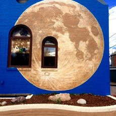 Full moon, Denver CO