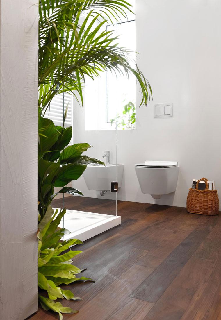 עיצוב פנים חדר שירותים